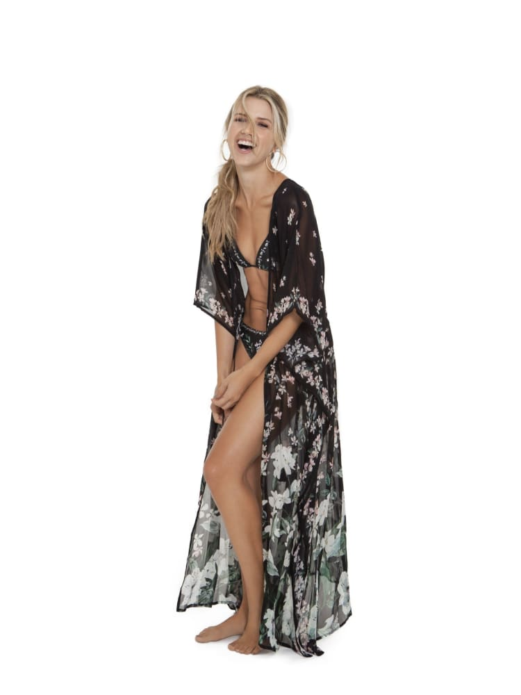 Agua Bendita Sam Nightfall Tunic - COVER UP