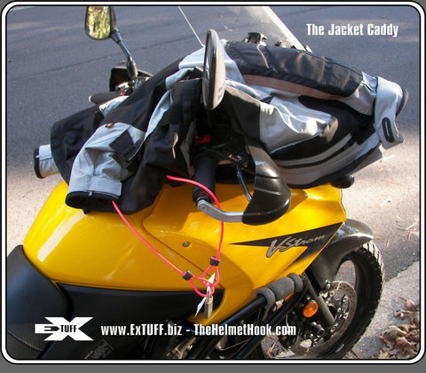 Jacket Caddy - Locking Cable - Secure Apparel, Equipment, etc.