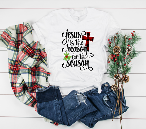 "Jesus is the Reason for the Season | Ready to Press Heat Transfer 9"" X 12"" - Swell Vinyl"