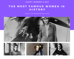 The Most Famous Women In History.
