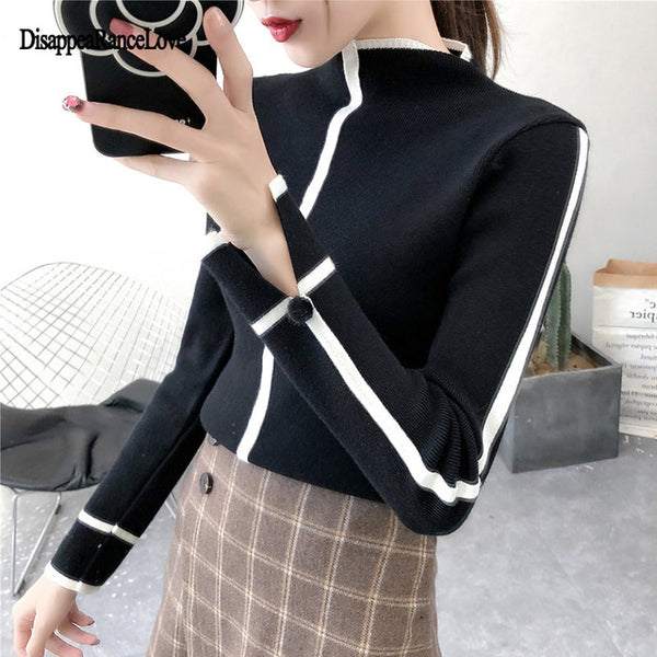 Sweater Female Soft Korean Style - GigaWorldStore