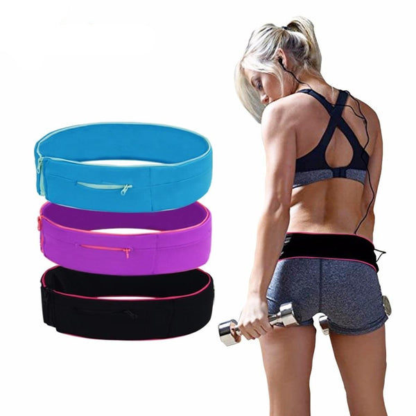 Professional Running Waist Bag for Mobile Phone Unisex Gym Bags Running Belt - GigaWorldStore
