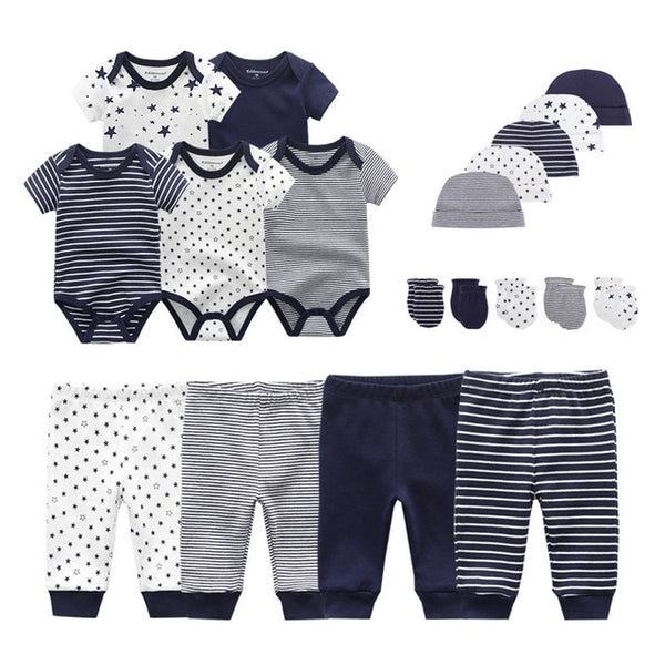 Solid Unisex New Born Baby Boy Clothes  Baby Girl Clothes