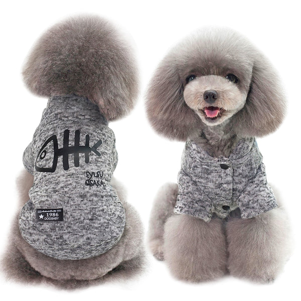 Cat Clothing Pet Puppy Dog Clothes Hoodies For Small Medium Pets