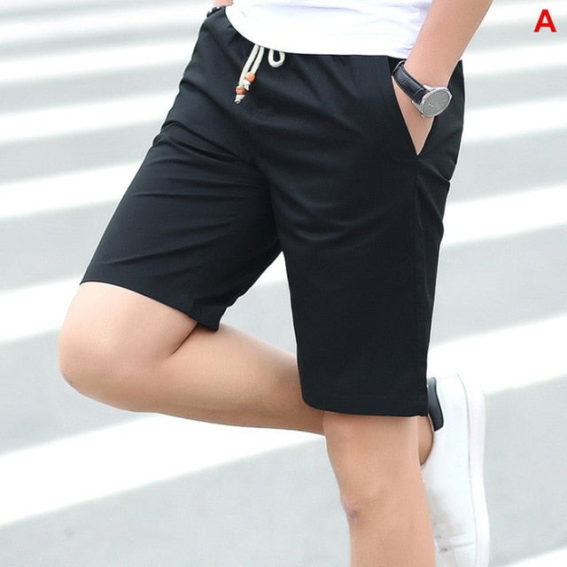 Summer Men's shorts Casual Loose Cropped Trousers Sports Shorts - GigaWorldStore