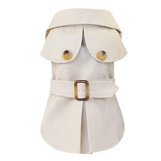 British Style Pets Clothes Thicken Jacket Coat Hoodies for Small Puppy Dogs Cats