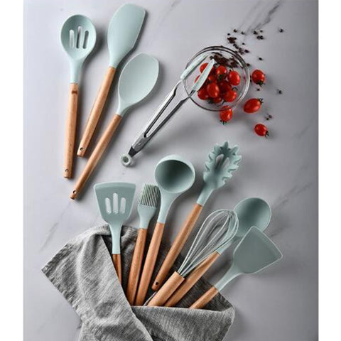 Silicone Cooking Tools Set Premium Silicone Kitchen Cooking Utensils