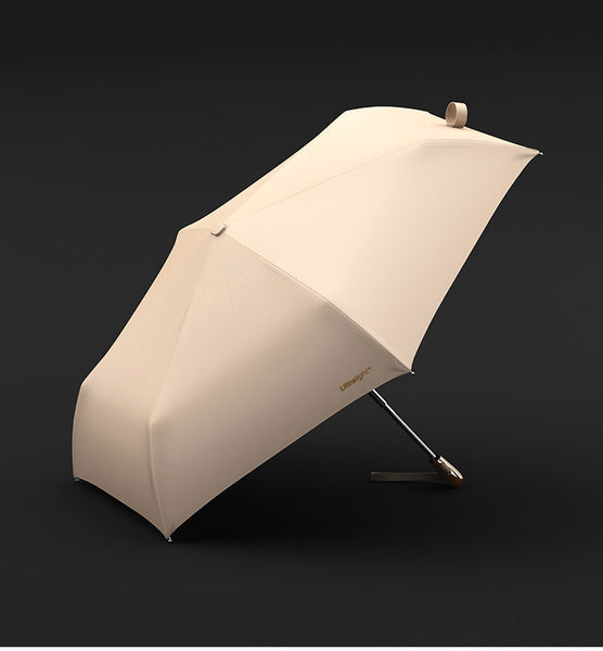 Luxury Ultralight Umbrella Rain Women Anti UV Parasol Folding Clear Umbrellas