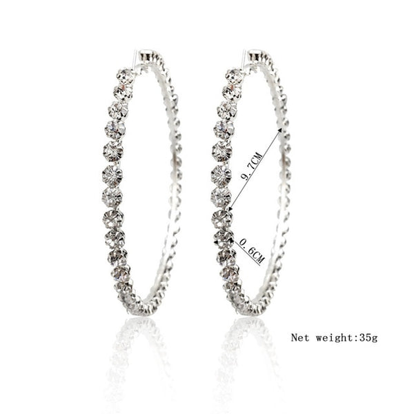 Beautiful earings silver color