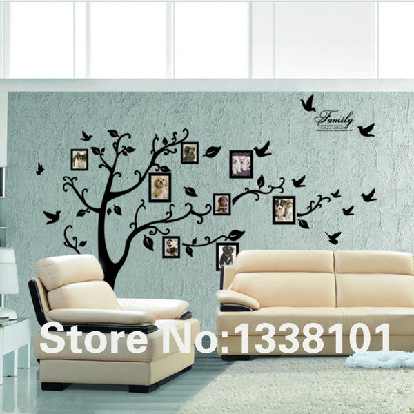 Tree PVC Wall Stickers Decals - GigaWorldStore