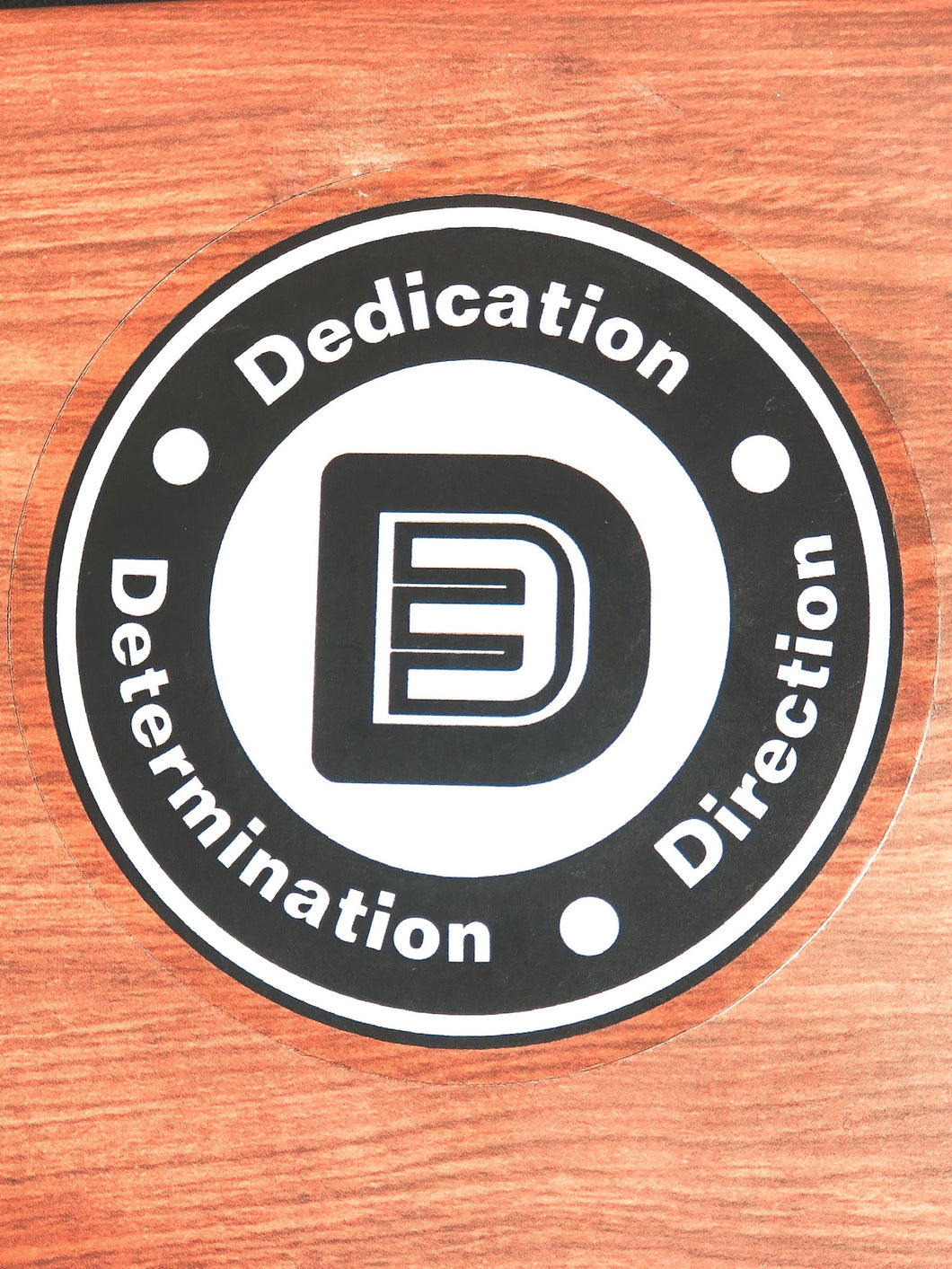 D3 Logo Sticker