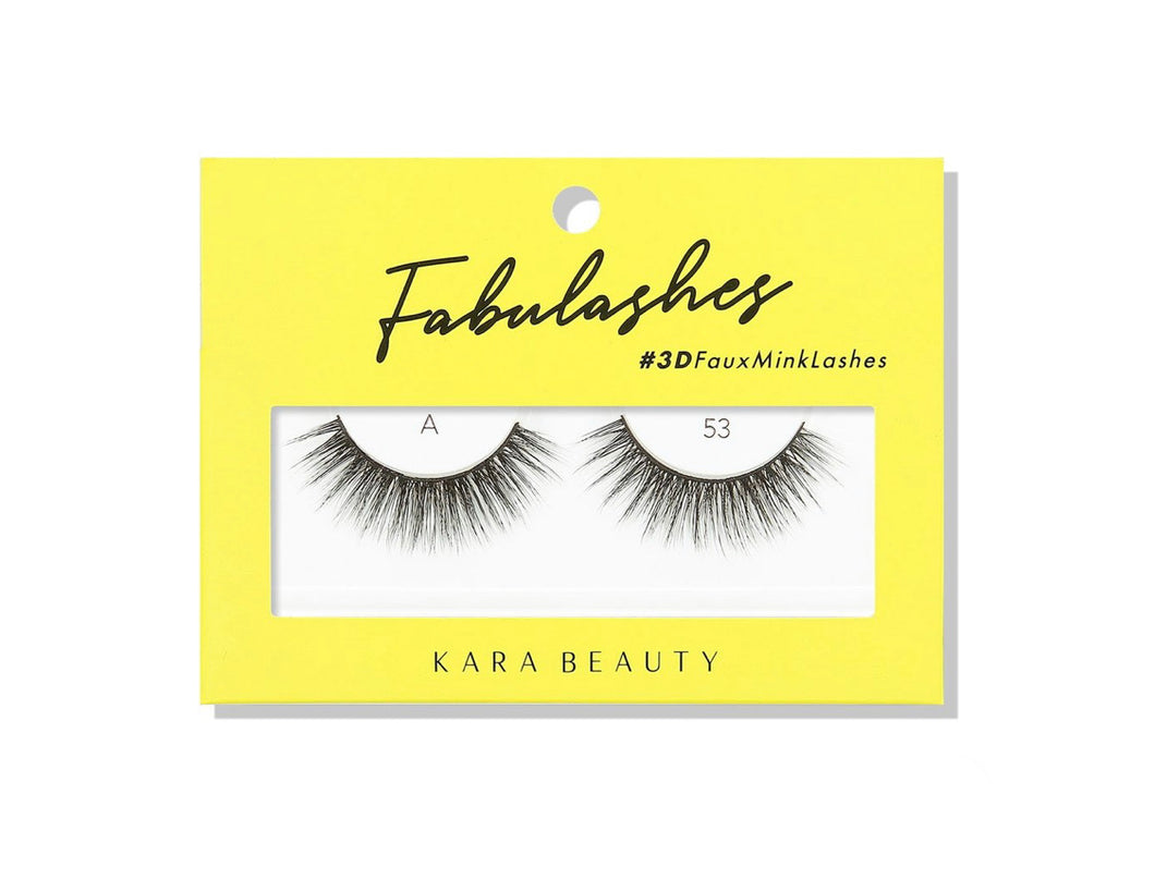 Kara Beauty- A53 Fabulashes 3D Faux Mink Lashes