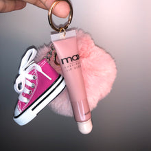 Load image into Gallery viewer, Soft Pink Sneaker Poof Gloss Keychain