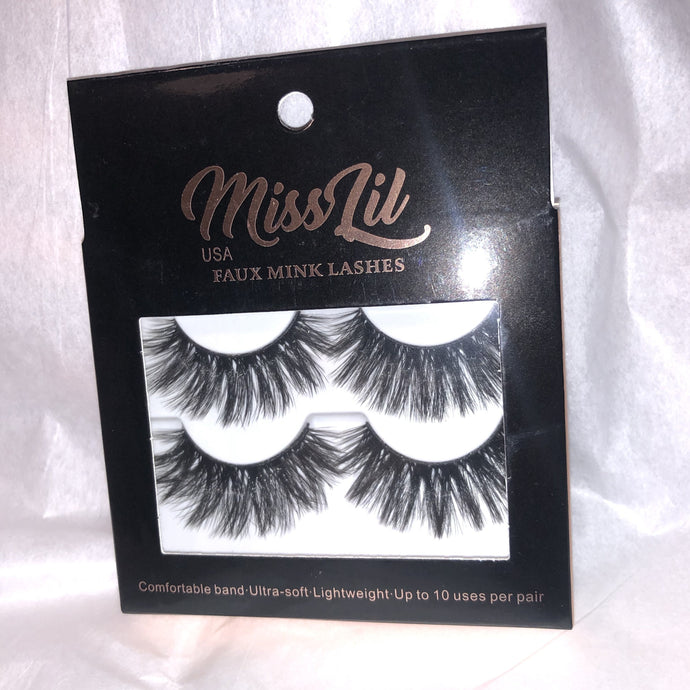 MissLil 2 Pair Lashes #5
