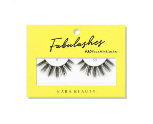 Kara Beauty- A59 Fabulashes 3D Faux Mink Lashes