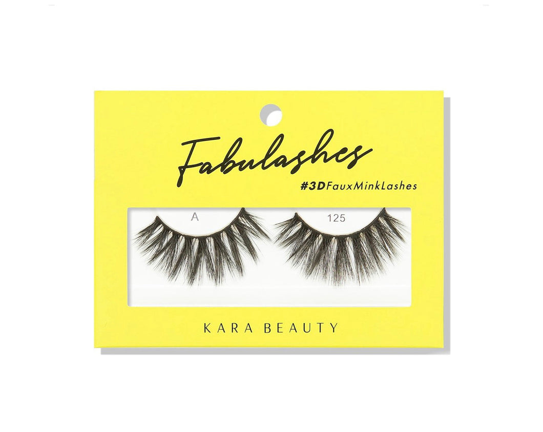 Kara Beauty- A125 Fabulashes 3D Faux Mink Lashes