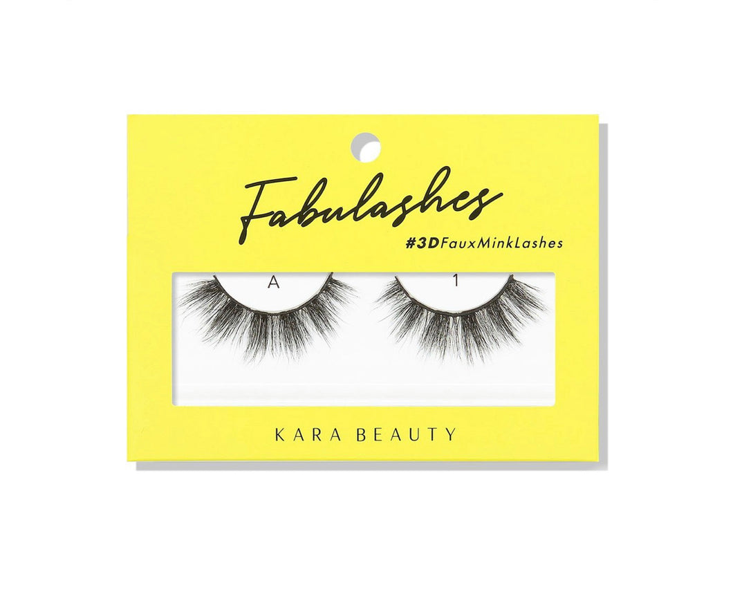 Kara Beauty- A1 Fabulashes 3D Faux Mink Lashes