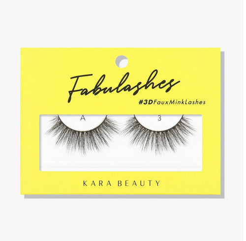 Kara Beauty- A3 Fabulashes 3D Faux Mink Lashes