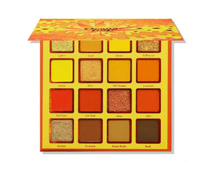 Kara Beauty Orange POP Shadow Palette