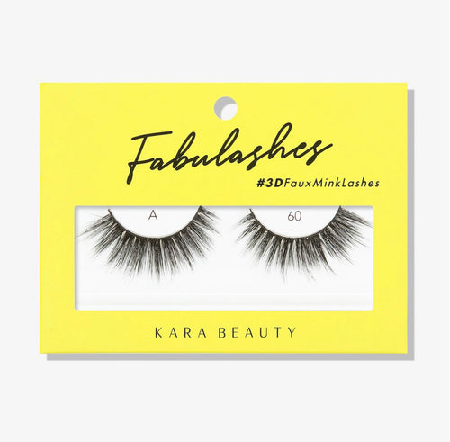 Kara Beauty- A60 Fabulashes 3D Faux Mink Lashes