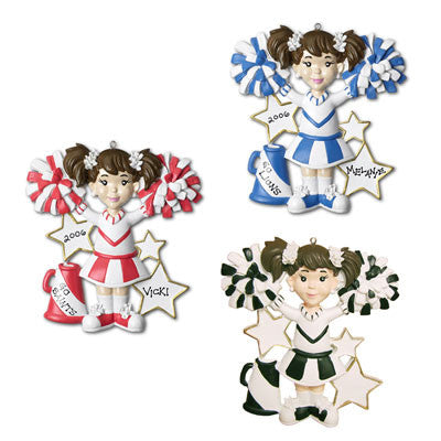 Personalized Christmas Ornament-Cheerleader Ornament
