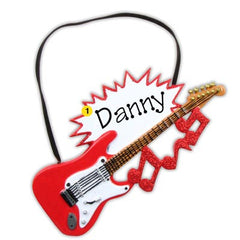 Personalized Christmas Ornament-Electric Guitar Ornament