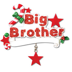 Personalized Christmas Ornament-Big Brother Ornament