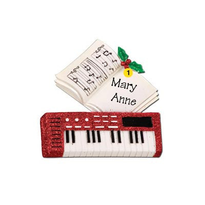 Personalized Christmas Ornament-Keyboard Ornament