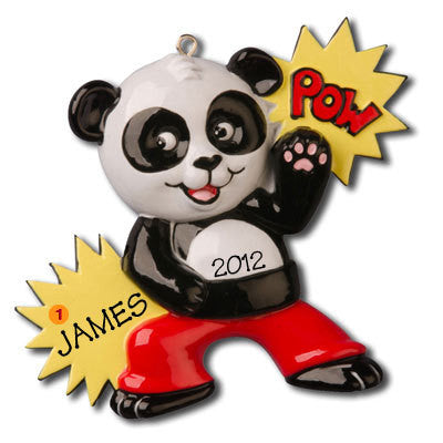 Personalized Christmas Ornament-Kung Fu Panda Ornament
