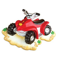 Personalized Christmas Ornament-Four Wheeler Ornament