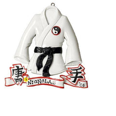 Personalized Christmas Ornament-Karate/Tae Kwon Do Ornament