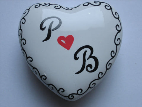 Personalized Trinket Boxes-Monogram