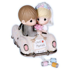 Precious Moments: Just Married (Car Figurine)