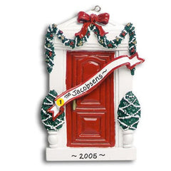 Personalized Christmas Ornament-Red Door Home Ornament