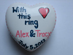 Personalized Trinket Boxes-With This Ring...