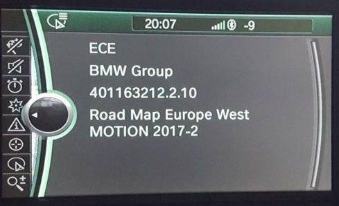 BMW Motion 2019 Navigation Map Update Package - NavigationUpdate