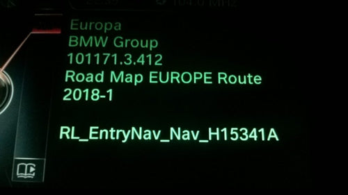 BMW Route 2018 Navigation Map Update Package - NavigationUpdate