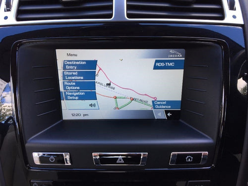 Jaguar XF, XK MMM2 2018 Navigation Map Update DVD - T1000-22180 - NavigationUpdate
