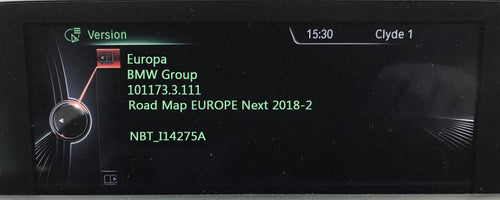 BMW Next 2019 Navigation Map Update Package - NavigationUpdate