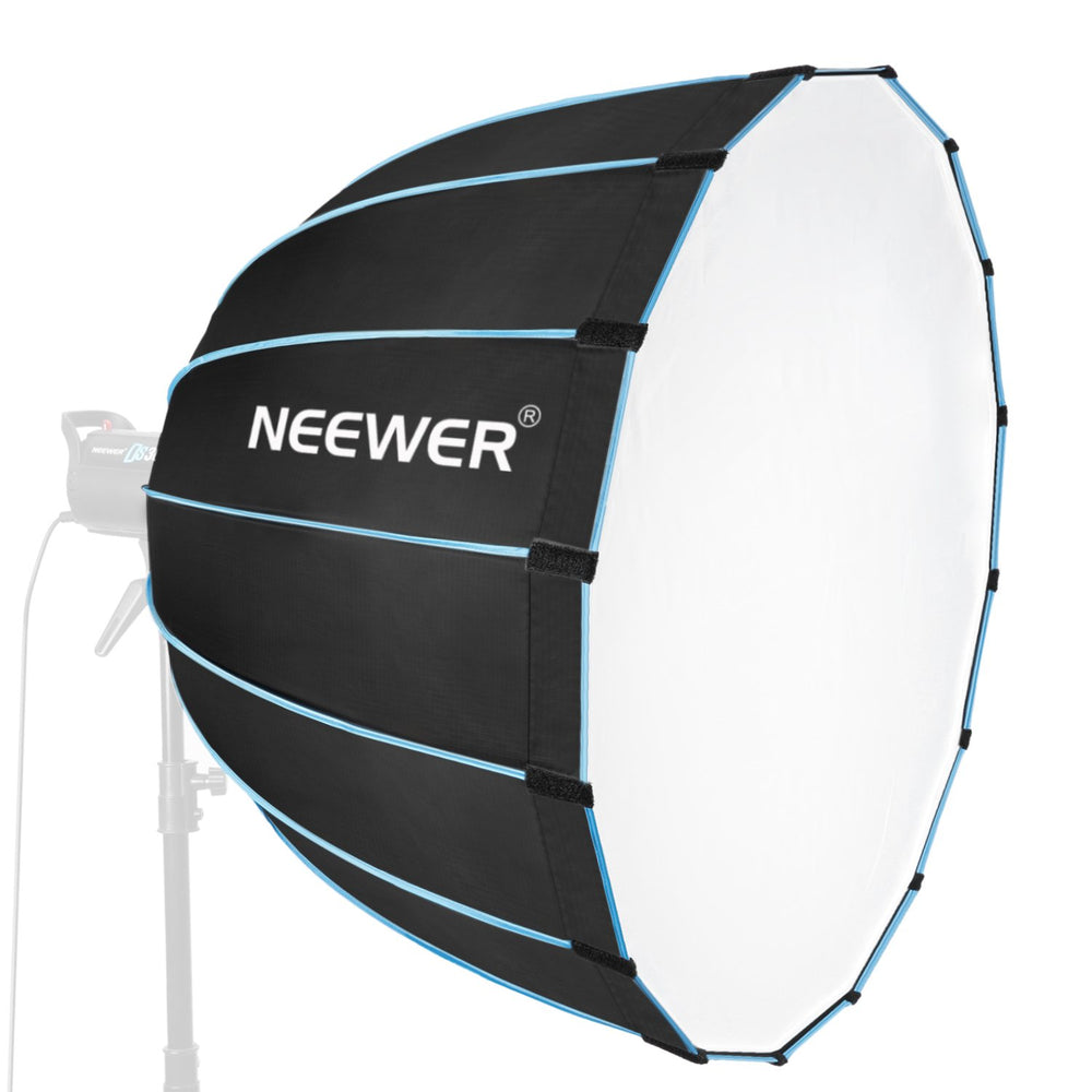 "Neewer Foldable Hexadecagon 36""/90cm Softbox with Blue Rim and Bowens Mount - neewer.com"