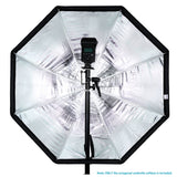 "Neewer 31.5"" /80cm Portable Octagonal Umbrella Softbox Portrait Product Photography (Black/Blue) - neewer.com"