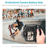 Neewer BG-E8 Replacement Battery Grip for Canon EOS 550D 600D 650D 700D/ Rebel T2i T3i T4i T5i SLR Cameras - neewer.com