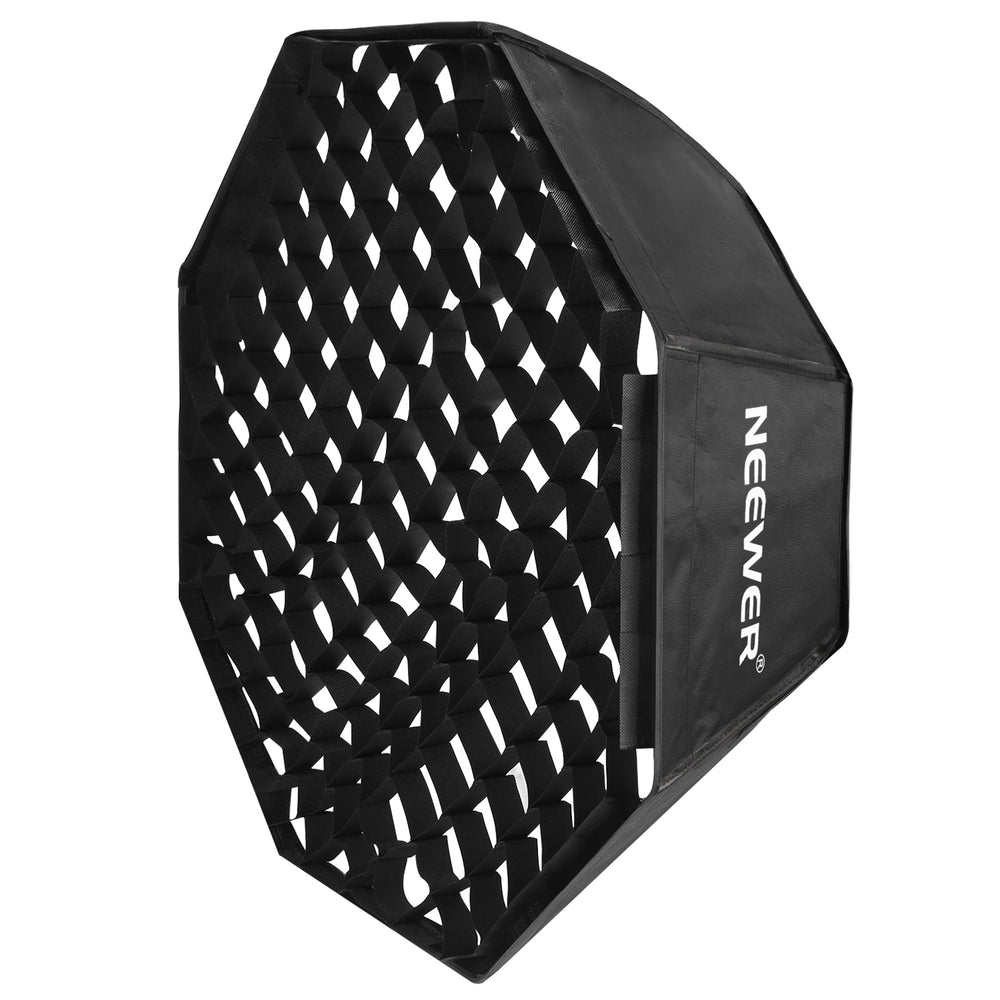 Neewer 32x32inches/80x80centimeters Octagon Flash Softbox with Grid and Bowens Mount Speedring