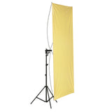 Neewer 90 x 180cm Gold/Silver Light Reflector with Carrying Bag - neewer.com