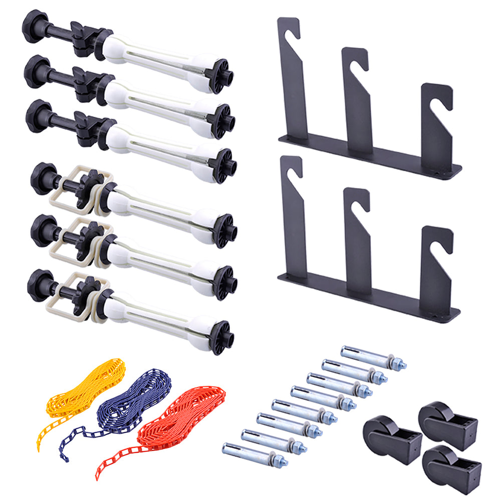 Neewer 3 x Roller Wall Mounting Manual Background Support System - neewer.com