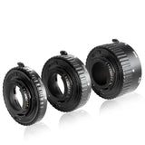 Neewer 12mm,20mm,36mm AF Auto Focus ABS Extension Tubes Set for Nikon