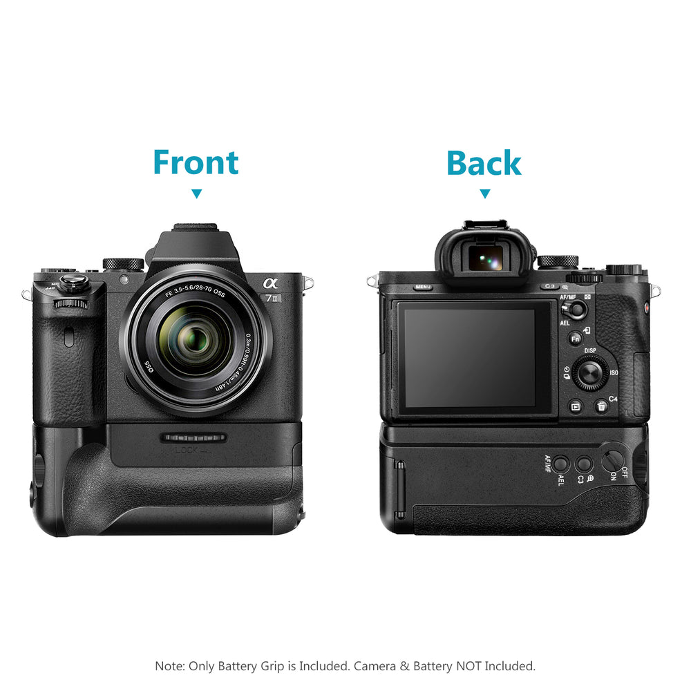 Neewer Battery Grip with Remote Control for Sony A7 II and A7R II
