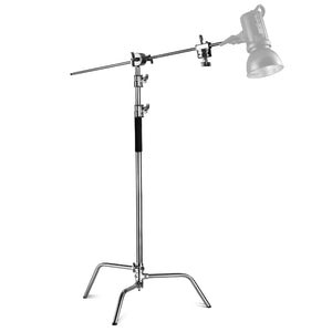 Neewer Pure Metal Max Height 11ft/331cm Adjustable Reflector Stand