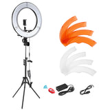 "Neewer 14"" Dimmable Small LED Ring Light and Stand Kit with Carrying Bag - neewer.com"