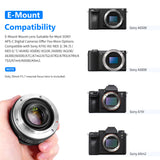 Neewer 35mm F/1.7 Large Aperture Manual Prime Fixed Lens for Sony - neewer.com